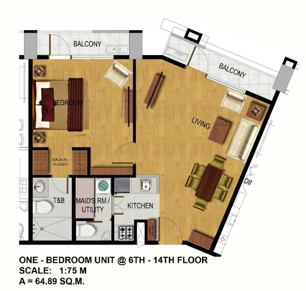 1-Bedroom-Unit