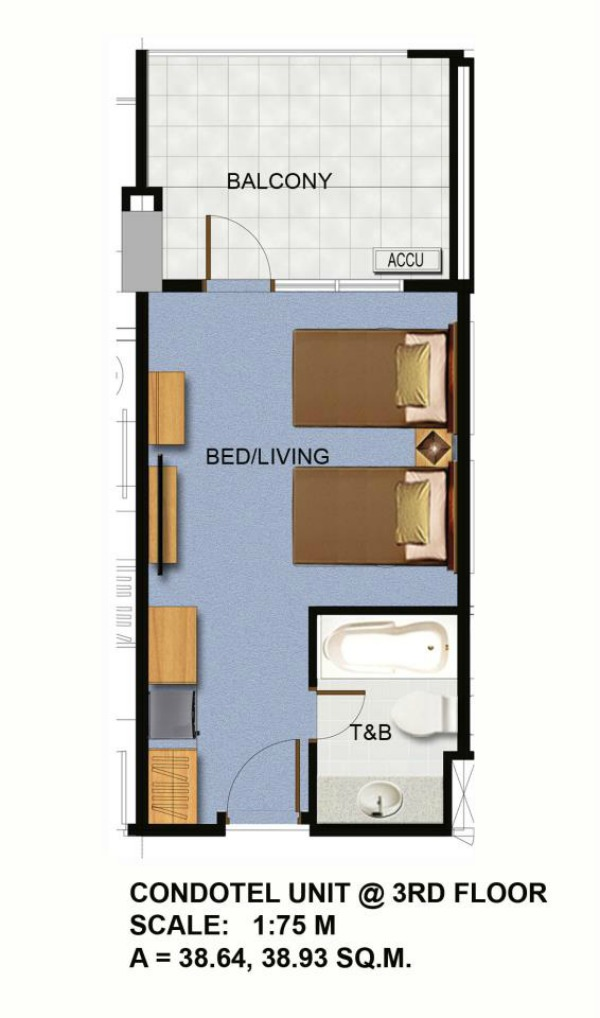 Condotel-Unit-Floor-Plan