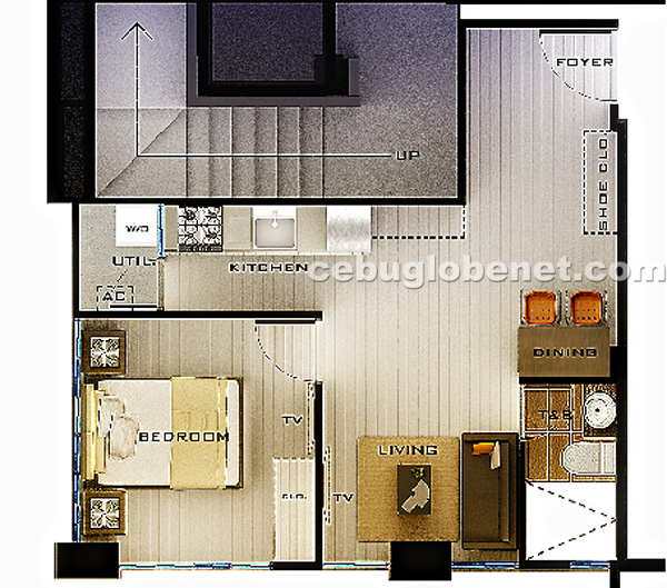 azon-one-bedroom-unit