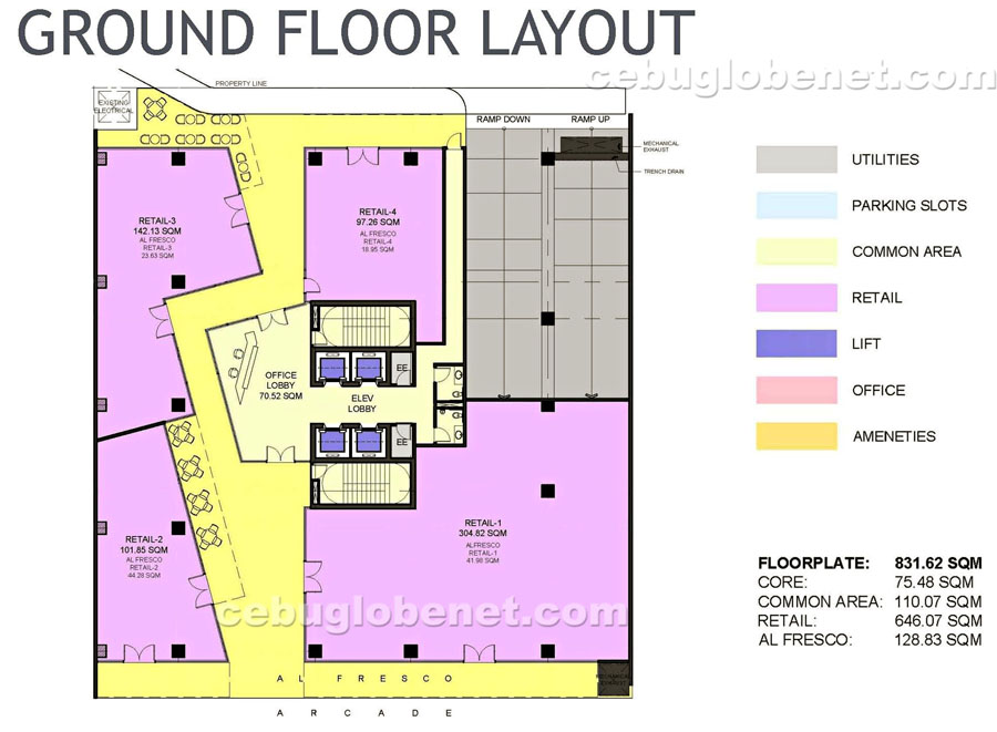 park-centrale-ground-floor-layout