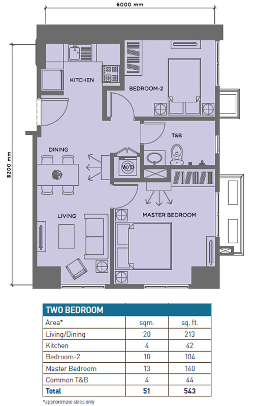 solinea-two-bedroom