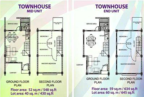 Townhouse Floor Plans Philippines Best Free Home