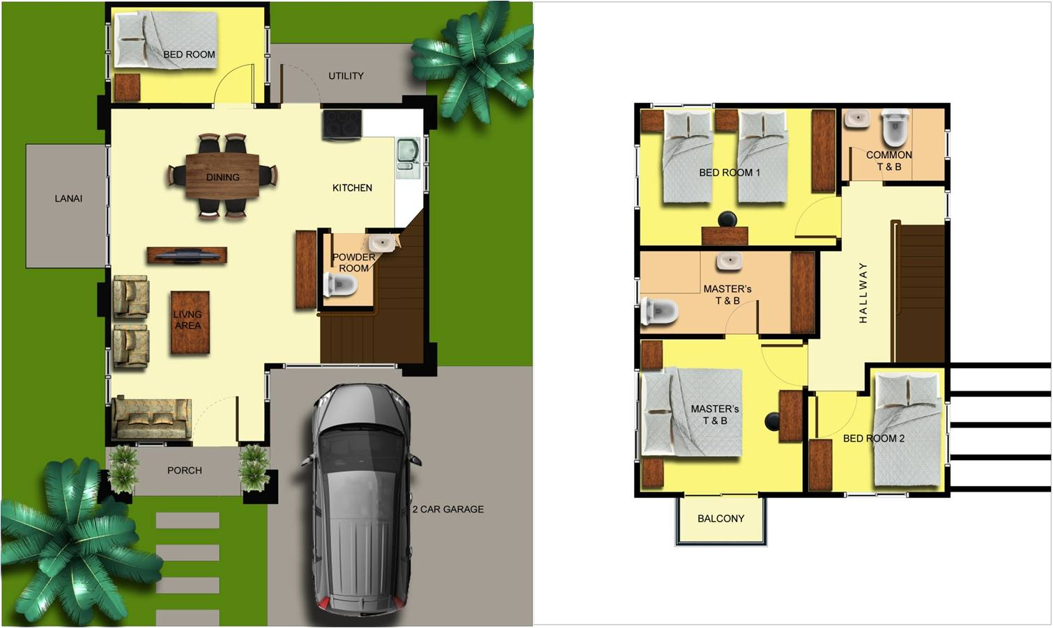 Amusing Single Detached House Floor Plan Images Image design house