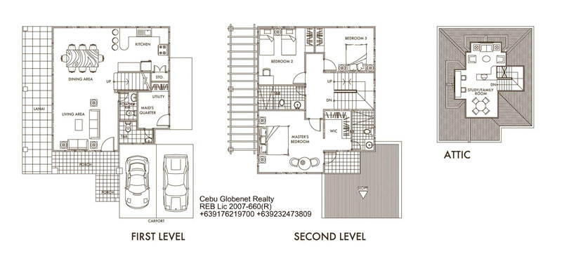 Aspen Floor Plan Pinecrest