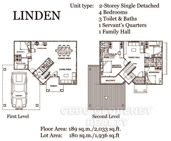 South Glendale Linden Floor Plan